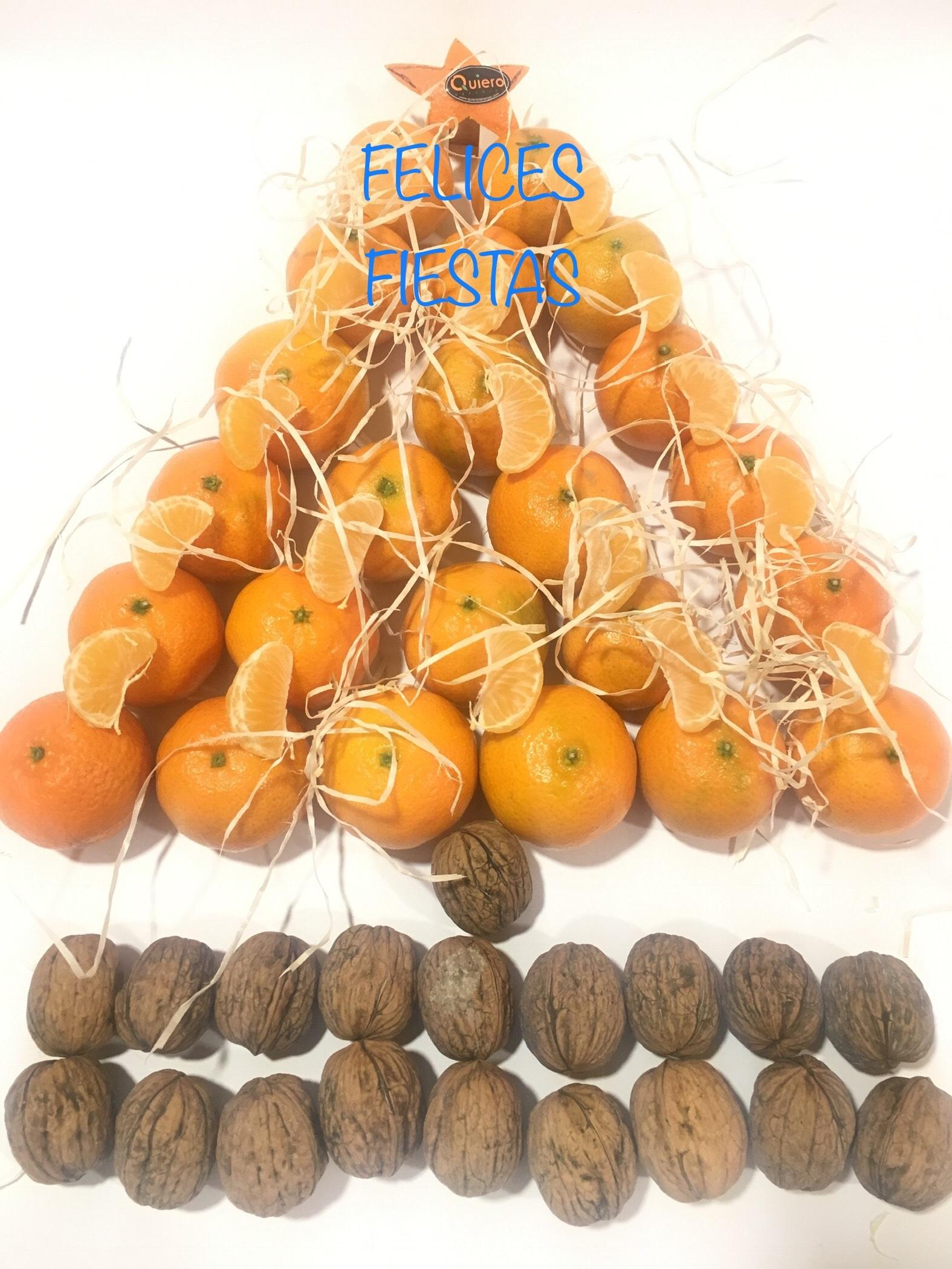 arbol de navidad naranjas